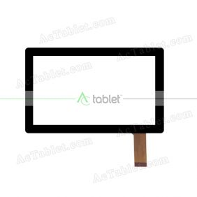 ZHC-Q8-061A Digitizer Glass Touch Screen Replacement for 7 Inch MID Tablet PC