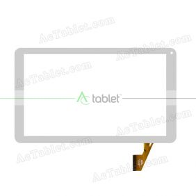 FPC-DP101093-F1 Digitizer Glass Touch Screen Replacement for 10.1 Inch MID Tablet PC