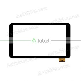 OLM-101A0925-PG Digitizer Glass Touch Screen Replacement for 10.1 Inch MID Tablet PC