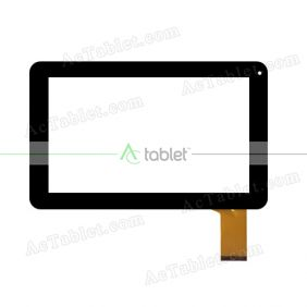 ZP9083-9 VER.00 Digitizer Glass Touch Screen Replacement for 9 Inch MID Tablet PC