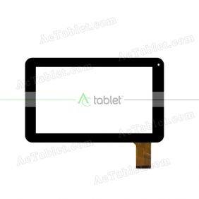 KDDC090-0075-FPC-A0 Digitizer Glass Touch Screen Replacement for 9 Inch MID Tablet PC
