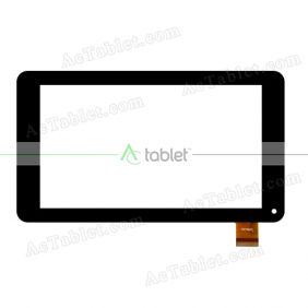 FHF70055 Digitizer Glass Touch Screen Replacement for 7 Inch MID Tablet PC