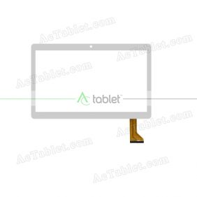 HD-1069A4-PG-FPC264-V1.0 Digitizer Glass Touch Screen Replacement for 9.6 Inch MID Tablet PC