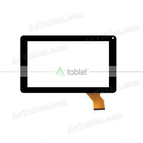 WJ583-V1.0 Digitizer Glass Touch Screen Replacement for 9 Inch MID Tablet PC