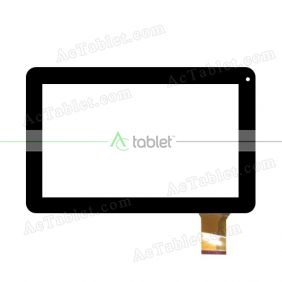 KHX-F900-W1-FPC Digitizer Glass Touch Screen Replacement for 9 Inch MID Tablet PC