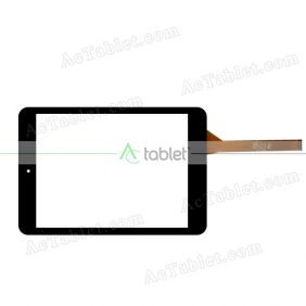 C19734A6-FPC776DR Digitizer Glass Touch Screen Replacement for 7.9 Inch MID Tablet PC