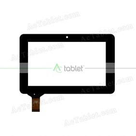 DRFPC049T-V1.0 Digitizer Glass Touch Screen Replacement for 7 Inch MID Tablet PC