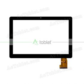 TOPSUN_F0061(COB)_A1 Digitizer Glass Touch Screen Replacement for 10.1 Inch MID Tablet PC