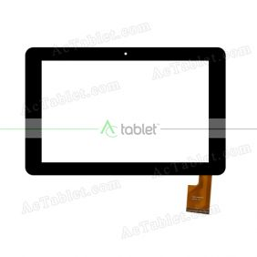 TOPSUN_F0058(COB)_A1 Digitizer Glass Touch Screen Replacement for 10.1 Inch MID Tablet PC