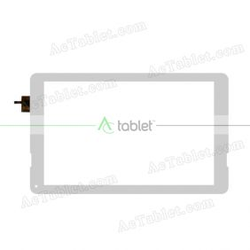 DY-F-10102-V2 Digitizer Glass Touch Screen Replacement for 10.1 Inch MID Tablet PC