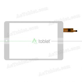 TPC-51131 CT363S Digitizer Glass Touch Screen Replacement for 7.9 Inch MID Tablet PC