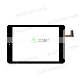 DY07095(V1) Digitizer Glass Touch Screen Replacement for 8 Inch MID Tablet PC