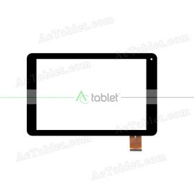 F1B690A Digitizer Glass Touch Screen Replacement for 10.1 Inch MID Tablet PC