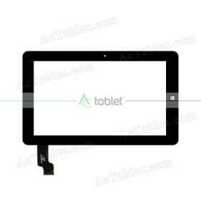OLM-101A1230-PG VER.3 Digitizer Glass Touch Screen Replacement for 10.6 Inch MID Tablet PC