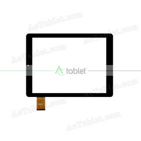 ZYD097-18 V02 Digitizer Glass Touch Screen Replacement for 9.7 Inch MID Tablet PC