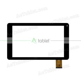 XC-PG1010-055-0A-FPC Digitizer Glass Touch Screen Replacement for 10.1 Inch MID Tablet PC
