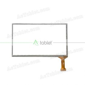 XC-PG0700-004-A2 Digitizer Glass Touch Screen Replacement for 7 Inch MID Tablet PC