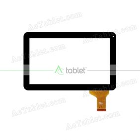 901A0-003765Q N3765Q Digitizer Glass Touch Screen Replacement for 10.1 Inch MID Tablet PC