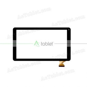 HXD-1027A1 Digitizer Glass Touch Screen Replacement for 10.1 Inch MID Tablet PC