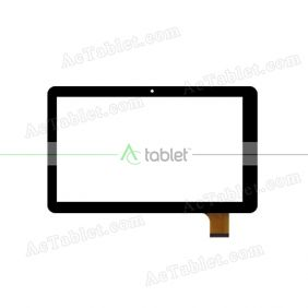 XC-PG1010-031-A0-FPC Digitizer Glass Touch Screen Replacement for 10.1 Inch MID Tablet PC