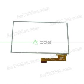 HY TPC-50191 V2.0 Digitizer Glass Touch Screen Replacement for 7 Inch MID Tablet PC