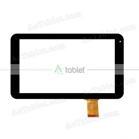 DH-1004A1-FPC21 Digitizer Glass Touch Screen Replacement for 10.1 Inch MID Tablet PC