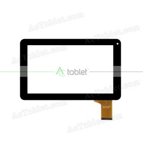 MGLCTP-90795-211 A FPC Digitizer Glass Touch Screen Replacement for 9 Inch MID Tablet PC