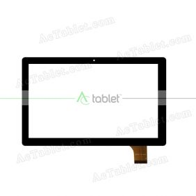ZYD0101-16V01 Digitizer Glass Touch Screen Replacement for 10.1 Inch MID Tablet PC