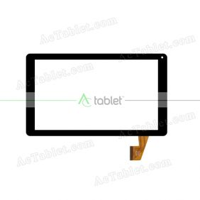 HOTATOUCH HC254145A1 FPC V3 Digitizer Glass Touch Screen Replacement for 10.1 Inch MID Tablet PC