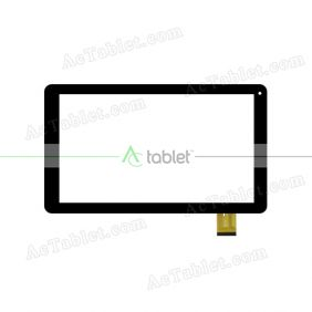 HXD-1072 Digitizer Glass Touch Screen Replacement for 10.1 Inch MID Tablet PC