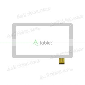HXD-1072A1 Digitizer Glass Touch Screen Replacement for 10.1 Inch MID Tablet PC