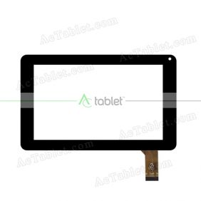 RAYSENS-RS7F243-V1.1 Digitizer Glass Touch Screen Replacement for 7 Inch MID Tablet PC
