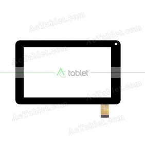 PB-70A8490-R1 Digitizer Glass Touch Screen Replacement for 7 Inch MID Tablet PC