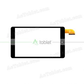 XC-PG0800-037-FPC-A0 Digitizer Glass Touch Screen Replacement for 8 Inch MID Tablet PC