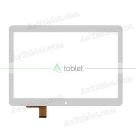 MJK-0621-FPC Digitizer Glass Touch Screen Replacement for 10.1 Inch MID Tablet PC
