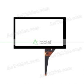 BR10031R-080 Digitizer Glass Touch Screen Replacement for 8 Inch MID Tablet PC