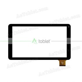 YJ276FPC-V1 Digitizer Glass Touch Screen Replacement for 10.1 Inch MID Tablet PC