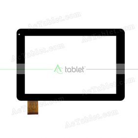 TPT-101-289E-1 Digitizer Glass Touch Screen Replacement for 10.1 Inch MID Tablet PC