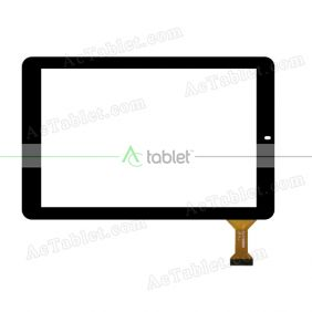 CLV10068A Digitizer Glass Touch Screen Replacement for 10.1 Inch MID Tablet PC