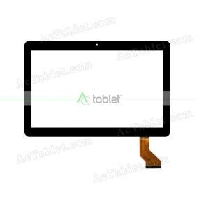 HN 1045-FPC-V1 Digitizer Glass Touch Screen Replacement for 9.6 Inch MID Tablet PC