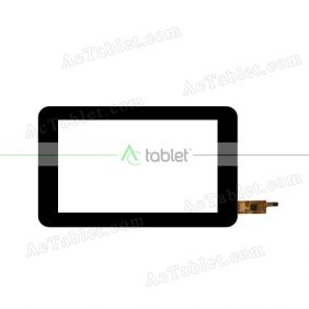 WGJ7288_V2 Digitizer Glass Touch Screen Replacement for 7 Inch MID Tablet PC