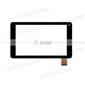 DXP2-0339-101C Digitizer Glass Touch Screen Replacement for 10.1 Inch MID Tablet PC