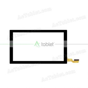 CN034C0700G12V0 Digitizer Glass Touch Screen Replacement for 7 Inch MID Tablet PC