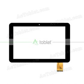 XN1529 2014102201 Digitizer Glass Touch Screen Replacement for 10.1 Inch MID Tablet PC