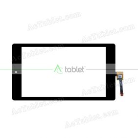 80701-0A5908B Digitizer Glass Touch Screen Replacement for 7 Inch MID Tablet PC