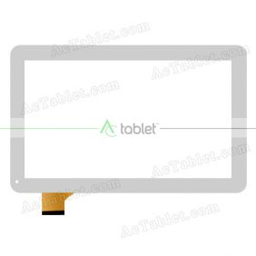 MJK-0398/2015.3.18 Digitizer Glass Touch Screen Replacement for 10.1 Inch MID Tablet PC