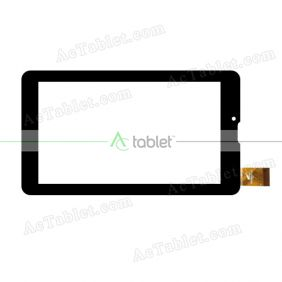 YTG-G70062-F1 V1.0 Digitizer Glass Touch Screen Replacement for 7 Inch MID Tablet PC