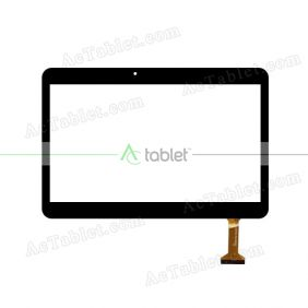 DH-1071A1-PG-FPC232 Digitizer Glass Touch Screen Replacement for 10.1 Inch MID Tablet PC