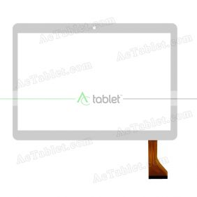 MJK-0587-FPC Digitizer Glass Touch Screen Replacement for 9.6 Inch MID Tablet PC