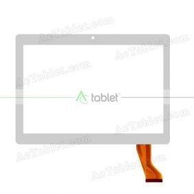 HN-1040-FPC-V1 Digitizer Glass Touch Screen Replacement for 9.6 Inch MID Tablet PC
